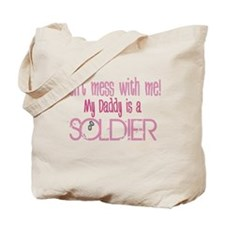 Don't mess with me - pink Tote Bag
