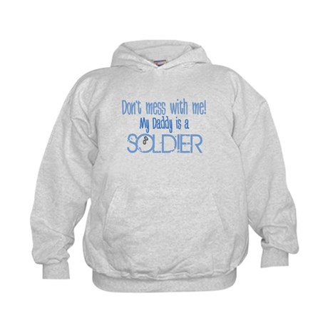 Don't mess with me - blue Kids Hoodie