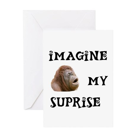 JUST IMAGINE Greeting Card