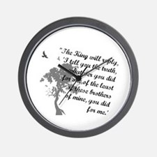 Least of These Wall Clock