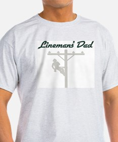 Lineman's Dad T-Shirt