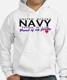 US Navy Father In Law Hoodie