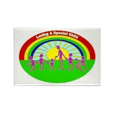 Rectangle Magnet for Loving A Special Child