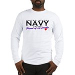 US Navy Father Long Sleeve T-Shirt