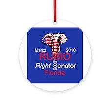 Rubio Senate Florida Ornament (Round)