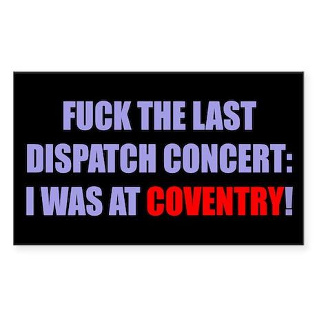 Coventry Sticker