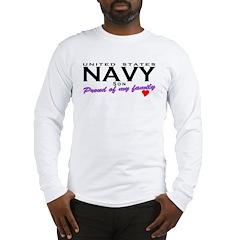 US Navy Son Long Sleeve T-Shirt
