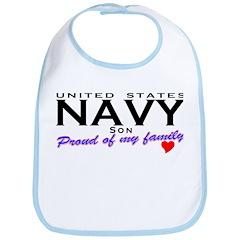 US Navy Son Bib