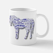 I LOVE HORSES Small Small Mug