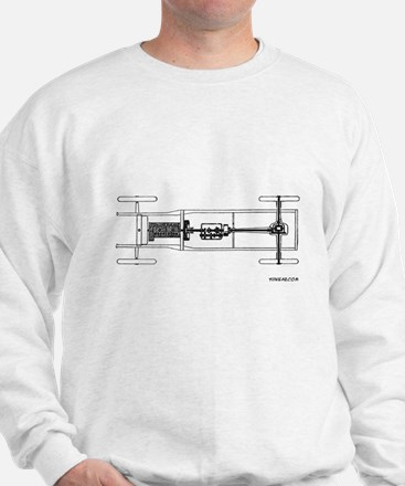 A Chassis - On a Sweatshirt