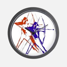 American Archer Wall Clock