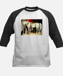 White Horse Kids Baseball Jersey