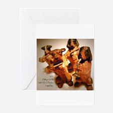 Beautiful Music Together Greeting Cards (Package o