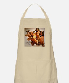 Beautiful Music Together BBQ Apron