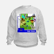 Utah Map Sweatshirt