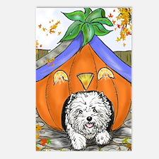 Pumpkin House Postcards (Package of 8)