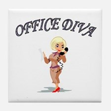 Cute Occupation Tile Coaster