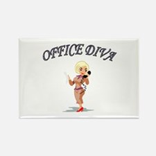 Cute Occupation Rectangle Magnet