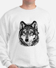 Painted Wolf Grayscale Jumper