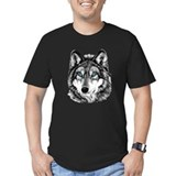 Animals Fitted T-shirts (Dark)