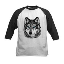 Painted Wolf Grayscale Tee