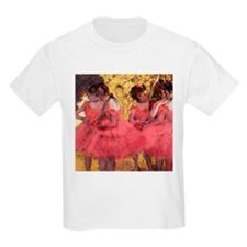 Dancers in Pink T-Shirt