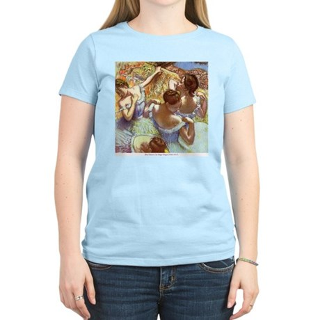 Blue Dancers Women's Light T-Shirt