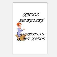 I love secretary Postcards (Package of 8)