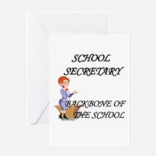 School secretaries Greeting Card