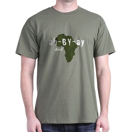 Amharic Dad Dark T-Shirt