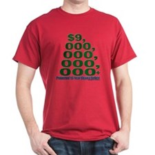 Obama Deficit (green) T-Shirt