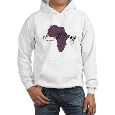 Amharic Mama (purple) Hooded Sweatshirt