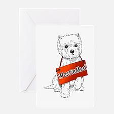 WestieMed Logo Greeting Card