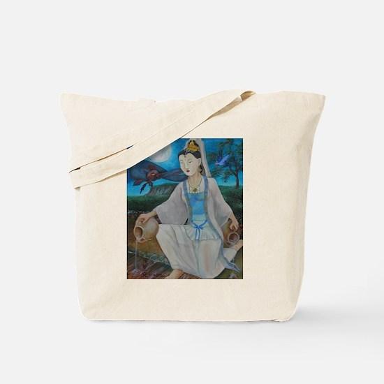 Unique Quan yin Tote Bag