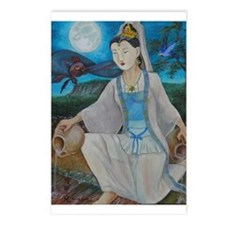 Kuan yin Postcards (Package of 8)