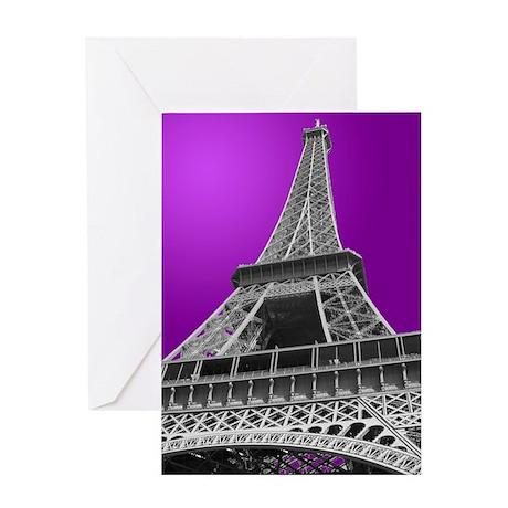 Eiffel Tower Paris Photo Greeting Card