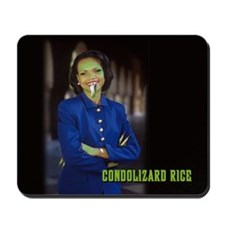 CONDOLIZARD RICE - Mousepad