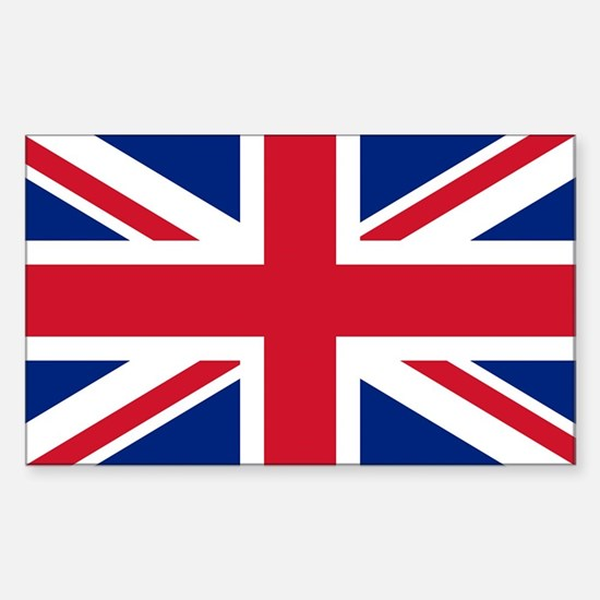 Sticker with British Flag - the Union Jack