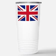 Stainless Steel Travel Mug with Union Jack