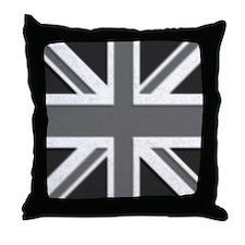 Black and white, Union Jack pillow.