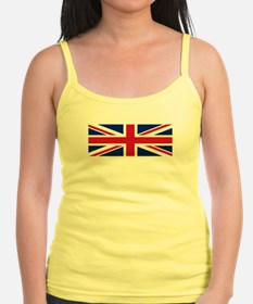 Strappy top - flying Union Jack flag