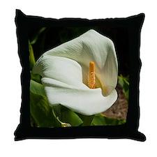 Throw Pillow - White Lilly