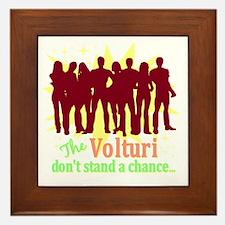 Volturi Don't Stand A Chance Framed Tile