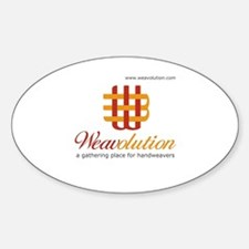 Weavolution Oval Decal