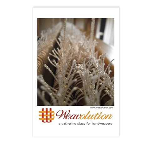 Weavolution 'Texsolv' Postcards (Package of 8)