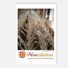 Weavolution 'Texsolv' Postcards (Package of 8)