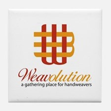 Weavolution Tile Coaster