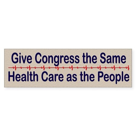 Give Congress Healthcare