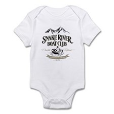 Private Retreat Black/Tan Infant Bodysuit