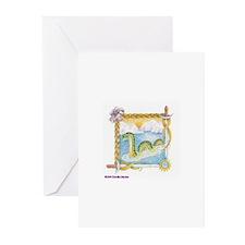 Priscilla's Nessie Greeting Cards (Pk of 10)